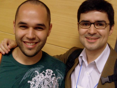 With Pedro Belleza (RBS)
